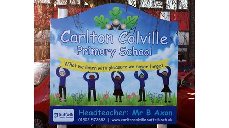 Carlton Colville Primary School in Lowestoft. Picture: Mick Howes