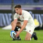File photo dated 31-10-2020 of England's Owen Farrell. Issue date: Thursday February 4, 2021.