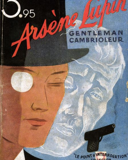 """UNSPECIFIED - CIRCA 1932: Cover of """"Arsene Lupin, gentleman cambrioleur"""" of Maurice Leblanc (1864-1"""