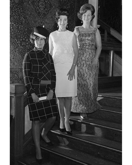 Fashions on show at Footman's Ipswich store in September 1966.