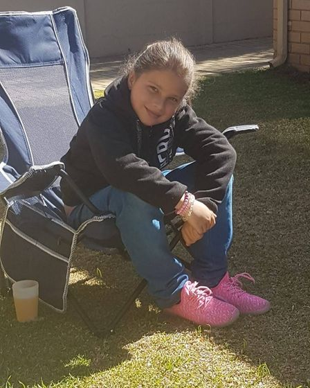Angelia Boniwell has not been able to see her dad Adrian for four years