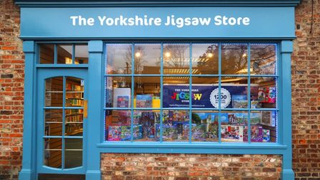 The Yorkshire Jigsaw Store Shop Front