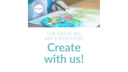 The Great Big Art Exhibition (#TheGreatBigArtExhibition2021) was announced at the end of January