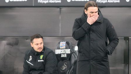 Daniel Farke has plenty of thinking to do ahead of Stoke City's visit after Norwich City's promotion charge stalled last week