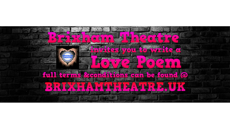 Brixham Theatre invites you to write a love poem