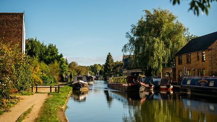 A canal in Herts