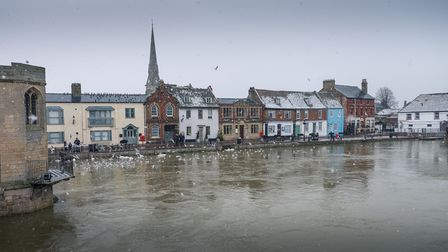The Quay at St Ives, photograph is by Martin Lawrence.