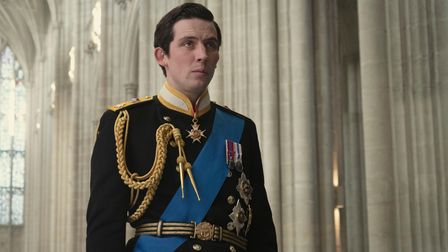 Josh O'Connor as Prince Charles in The Crown. The actor has been nominated for a Golden Globe Award.