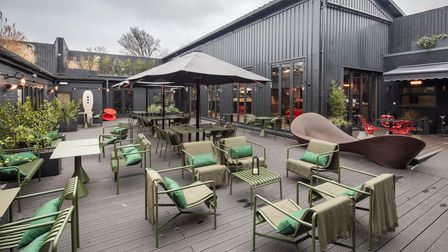 When pandemic restrictions lift, Mediterranean restaurant The Engine Room will open on the site of Hexagon Classics with plenty of outside space