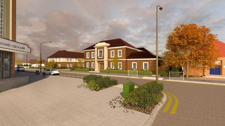 Artistic impression of the Town Lodge development