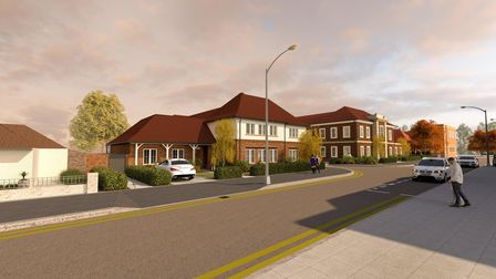Artist impression of Town Lodge redevelopment