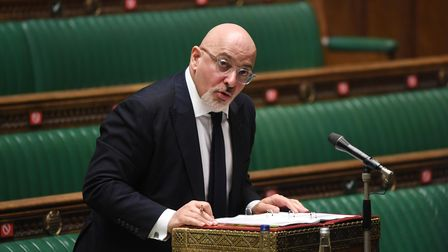 Nadhim Zahawi in the House of Commons