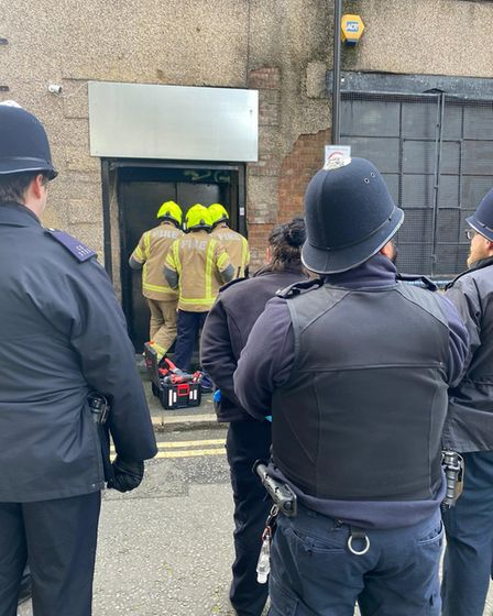 Police raided the massive cannabis farm in Rosina Street with the help of the London Fire Brigade