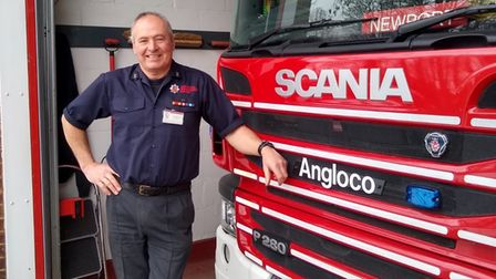 Neil Byford of Newport Fire Station