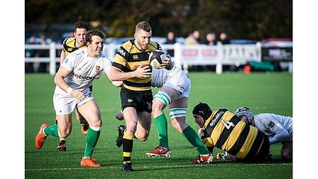 Rob Dempsey in action for Hornets