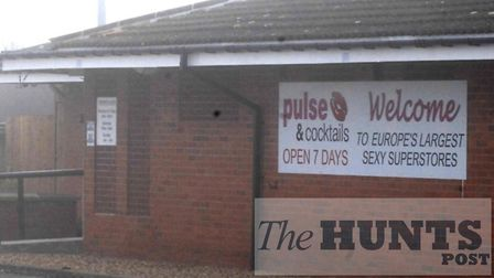 The adult shop on the A1M at Sawtry could be demolished as part of plans for a new Moto service station.