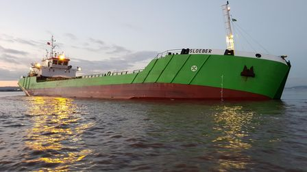 One of the dredging vessels used in 2018.