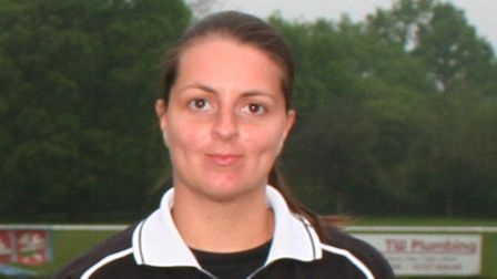 Rebecca Fearns Herts Ad Sunday League referee