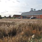 Snape Maltings and the surrounding landscape