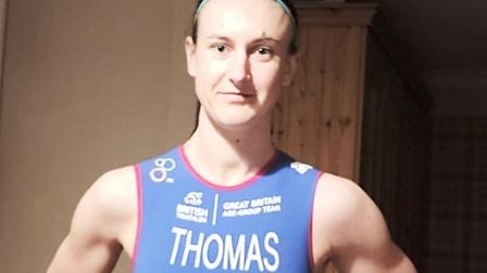 Suffolk New College lecturer Lara Thomas will represent Team GB at an international event this year