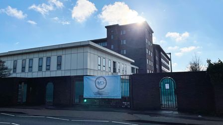 Former BT office is to be converted into 100 flats by the council Picture: CHARLOTTE BOND