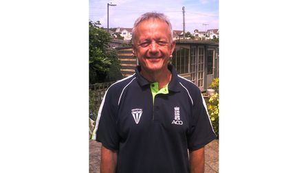 Picture of former cricket umpire