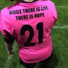 The fundraising challenges are based around the number 21, which was Charlene's shirt number.