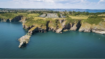 Picture of clifftop holiday park