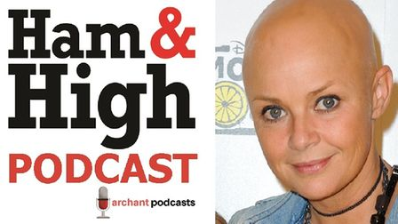 Gail Porter is on the Ham&High Podcast