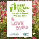 A HDC campaign to promote parks in Huntingdonshire has won a national award.