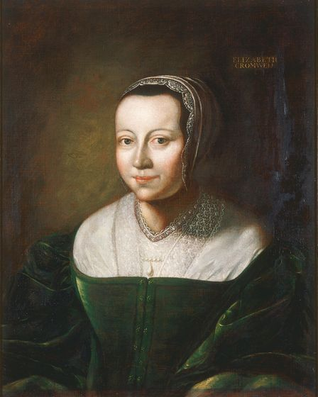 Elizabeth Cromwell wrote the cookery book after her husband had died.