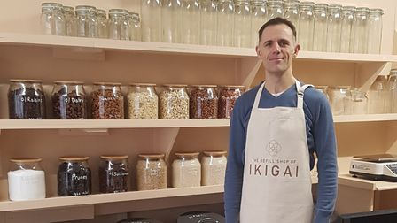 Martin Cooper - owner of The Refill Shop of Ikigai.