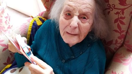 Staff at Park House in Great Yarmouth have paid tribute to 105-year-old Olive Lord