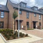 The new homes range from one-bedroom apartments to four-bedroom family homes. Picture: Havering Coun
