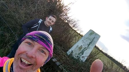 Keeping warm with Sidmouth runners