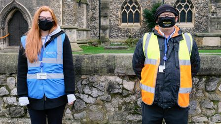 Two Romford BID employees have been redeployed as Covid marshals