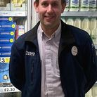 James Seamark Manager of Tesco Express
