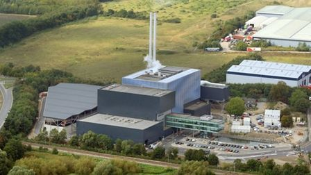 Great Blakenham incinerator. Picture: MIKE PAGE