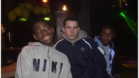 Young people at the Lowbiza Valentine's party at the Bandbox in Felixstowe in 2005