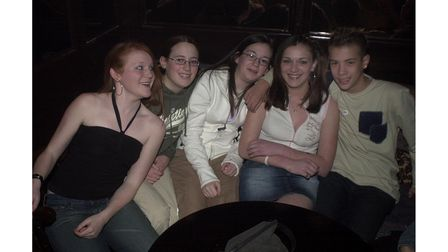 Youngsters at the Lowbiza Valentine's party at the Bandbox in Felixstowe in 2005