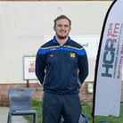 Ben Prior (HCR104fm), head coach of St Ives Rugby Club Max Dominy, and Isaac Brindley (HCR104fm).