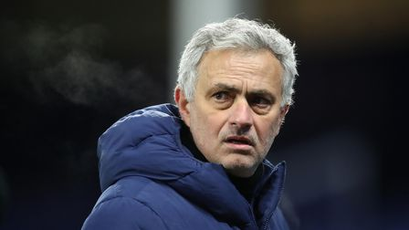 File photo dated 10-02-2021 of Tottenham Hotspur manager Jose Mourinho. Picture date: Wednesday Febr