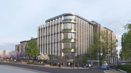 How the new City Centre Opportunity Site South development will look.