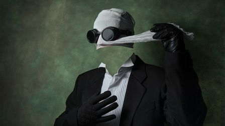 The Invisible Man by Steve Collins
