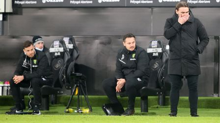 Daniel Farke has plenty of thinking to do ahead of Stoke City's visit after Norwich City's promotion