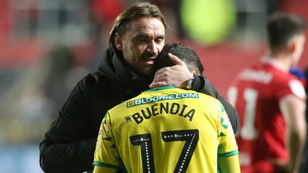 Norwich City head coach Daniel Farke is glad to have Emi Buendia back from suspension