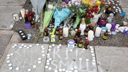 Craig Small, known as rapper Smallz was gunned down in Harrow Road. Picture: Jonathan Goldberg