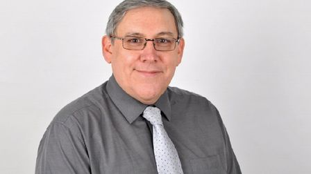 Cllr Ian Albert, executive member for finance at North Herts District Council