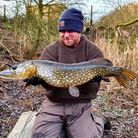 Andy Mendy landed a Pike at his syndicate