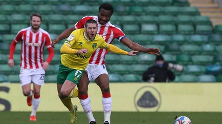 Emi Buendia returned from suspension with a bang in Norwich City's 4-1 Championship win against Stoke City